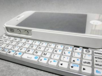 iPhone4S(iOS7.1.1)でBSKBB07WH(白)を使ってみた