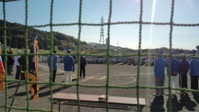 少年野球開会式
