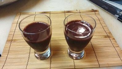 活き血ワイン割り