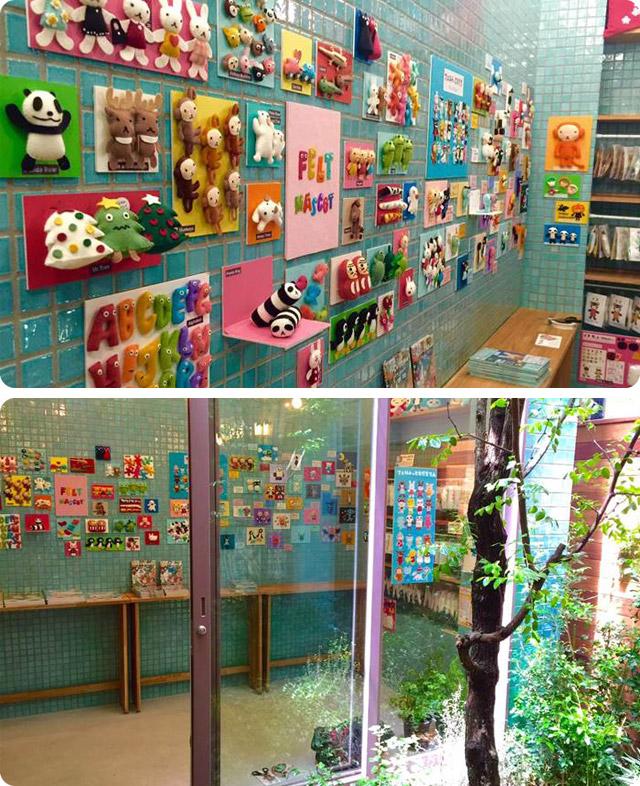 『フェルトのともだち』の発売を記念して東京店でイベント開催中!