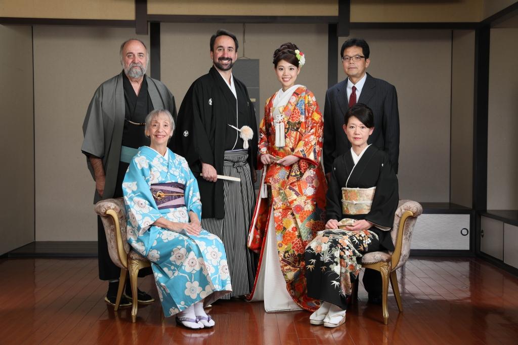 国際結婚家族写真