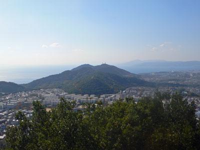 栂尾山から