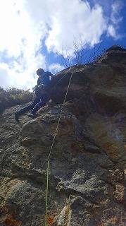 ゴリラ岩では