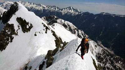 5峰の稜線を歩く