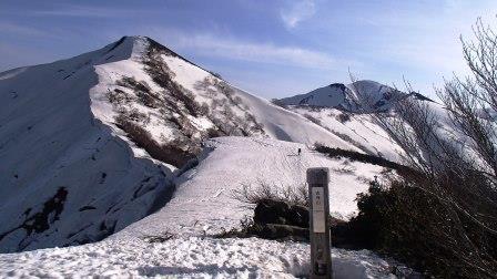 古寺山から小朝日岳