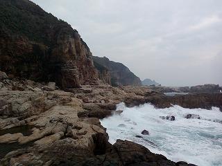海沿いルート