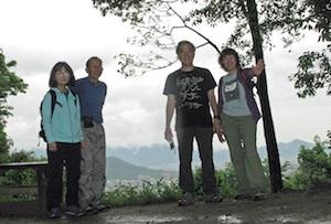 天香久山山頂