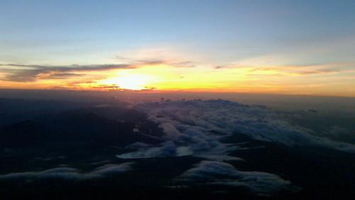 富士山からの日ノ出