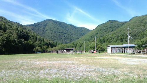小谷山全景