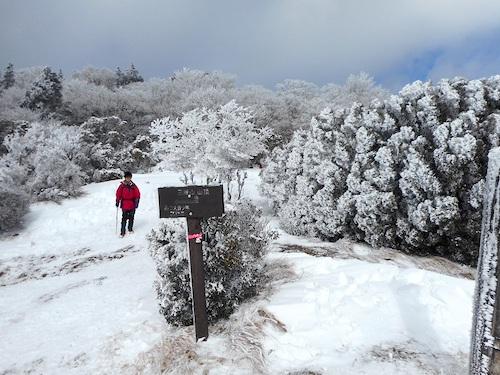 雪の八丁平