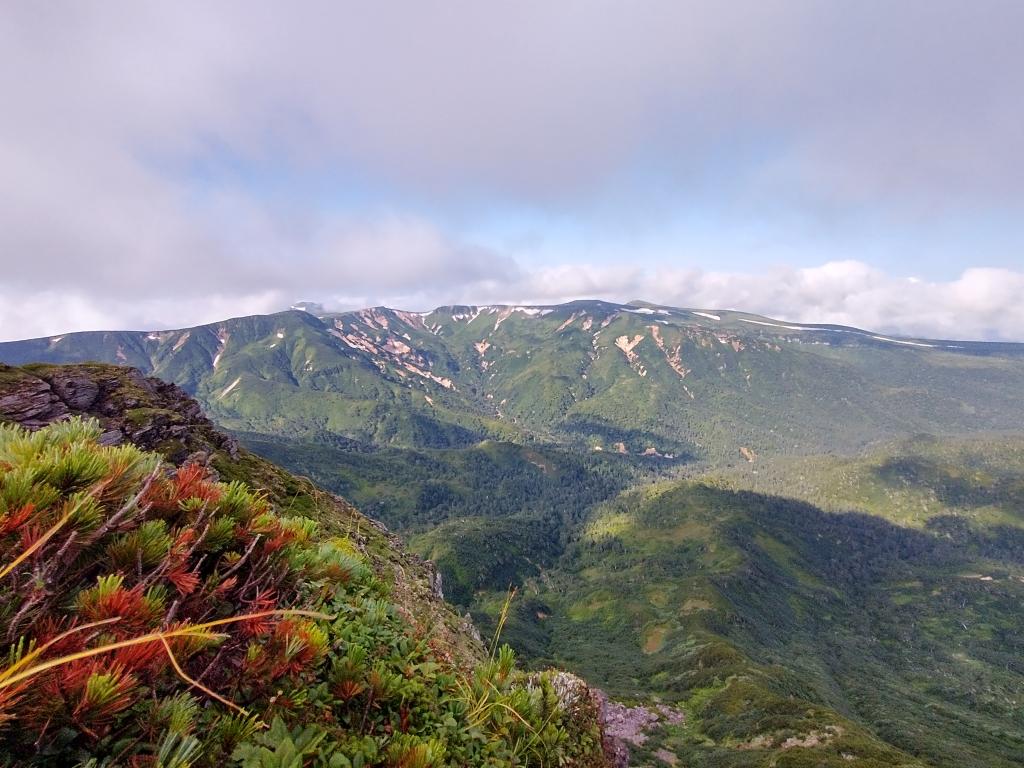 五色岳方面