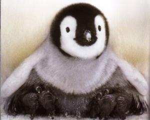 かわいいでしょ。皇帝ペンギンの赤ちゃんです。 映画「皇帝ペンギン」見まし... 皇帝ペンギン ~