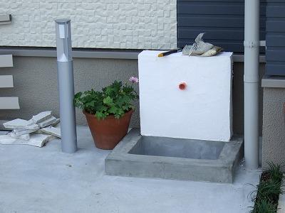 玄関散水栓
