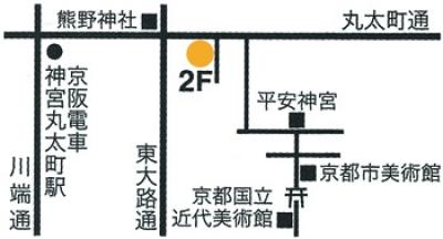 ギャラリー恵風MAP 岸田真理子個展