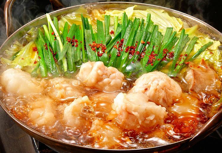 10万円のモツ鍋