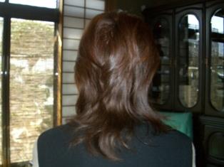 Rie髪の毛M3Dカラー