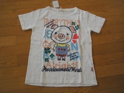 ブタTシャツ