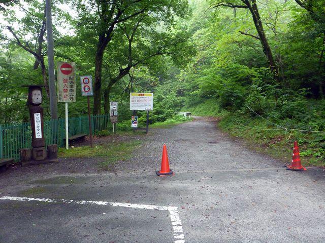 甲斐駒ヶ岳登山口