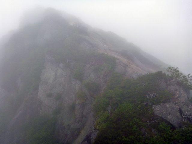 甲斐駒ヶ岳西峰