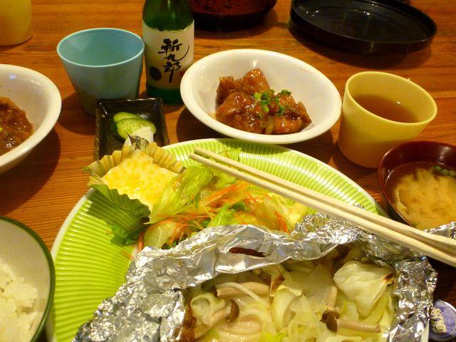 こもれび山荘夕食