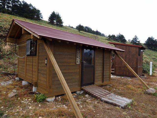 堂ヶ森避難小屋