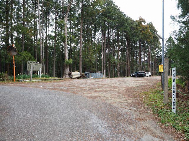 桑田山神社駐車場