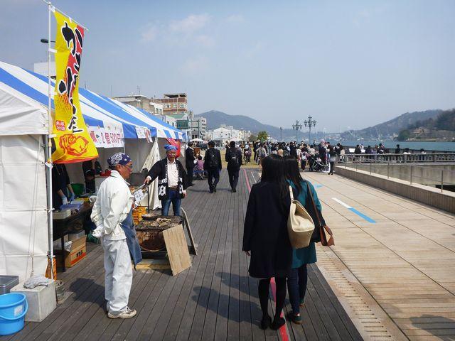 JR尾道駅前ベルポール広場