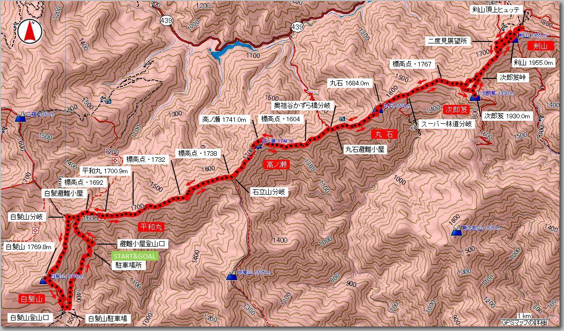 剣山マップ