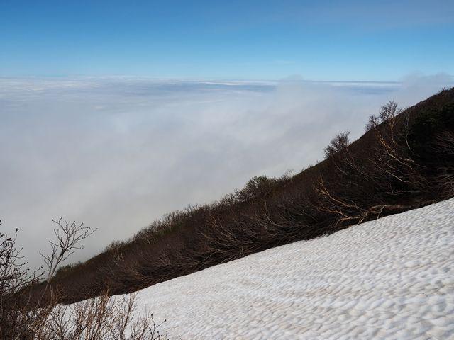 羊蹄山雪渓