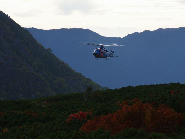 富山県警ヘリ