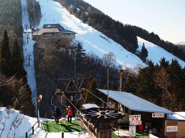 石鎚山スキー場