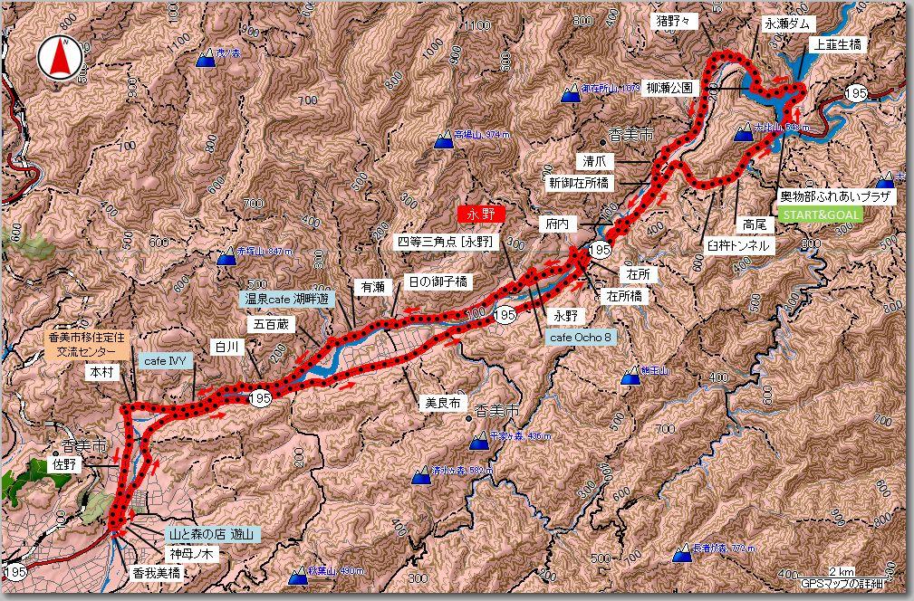 物部川マップ