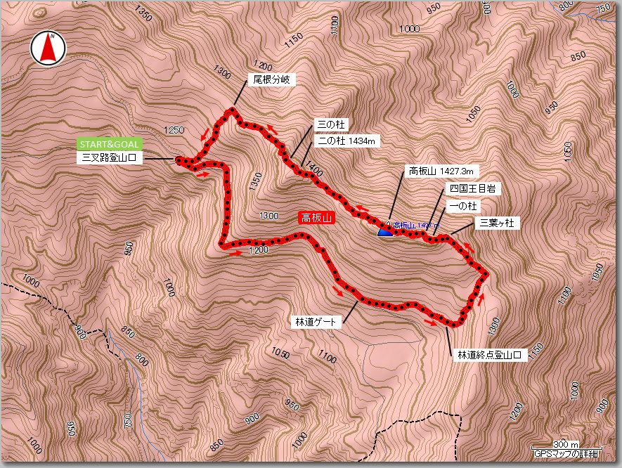 高板山マップ