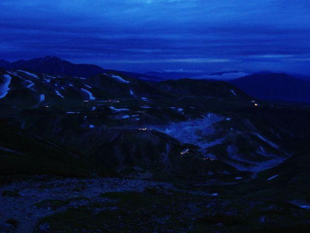 立山室堂夜景