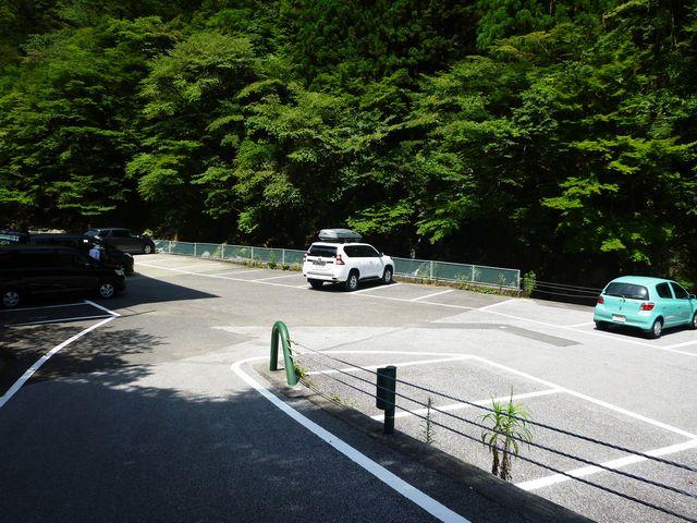 別府峡駐車場