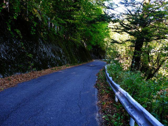 旧安房峠道路