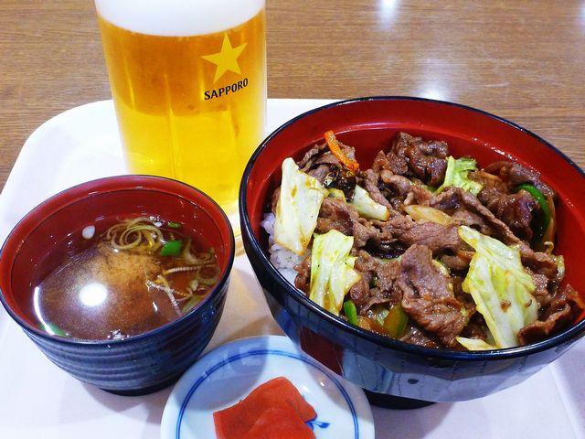 飛騨牛焼き肉丼