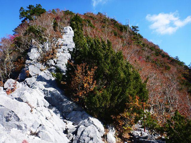 石立山・岩場