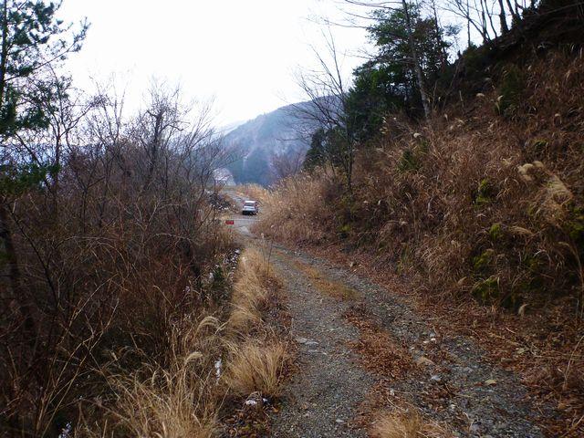 ふるさと林道・63線分岐