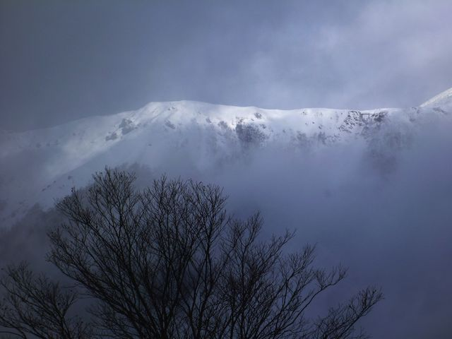 三嶺・西熊山稜線