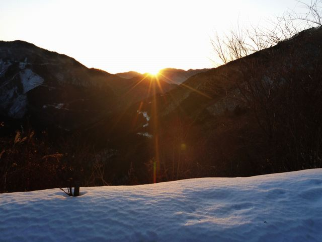 寒風山登山口