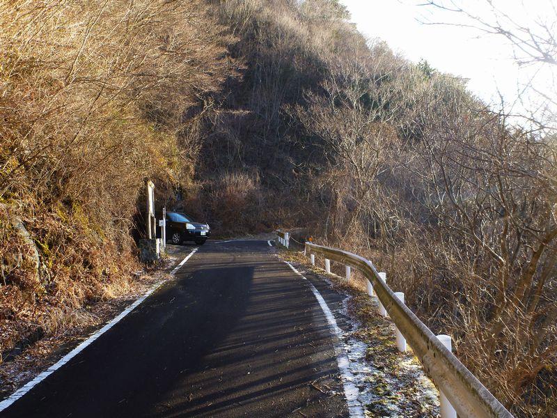 二ッ岳登山口