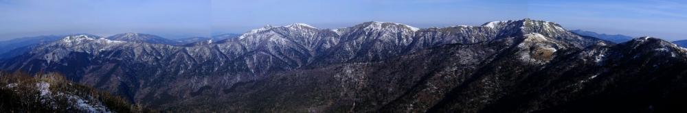 綱附森〜三嶺パノラマ