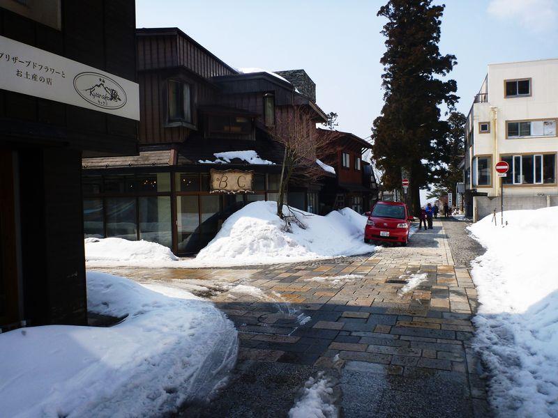 大山寺旅館街