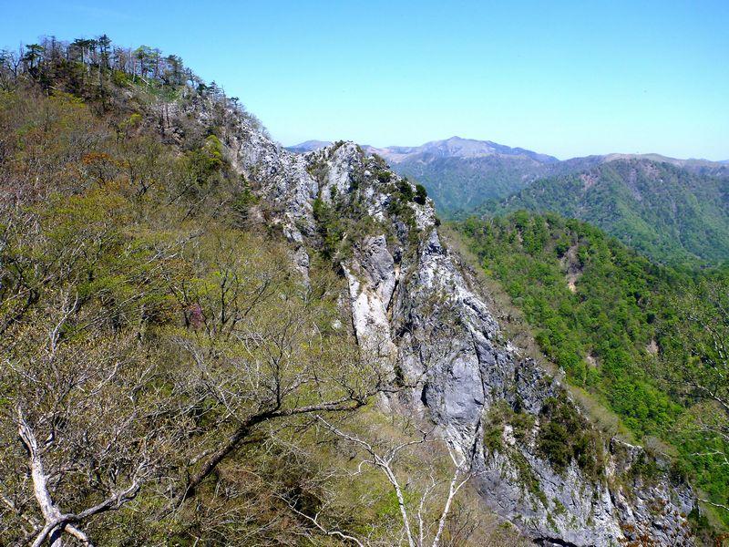 石立山西峰