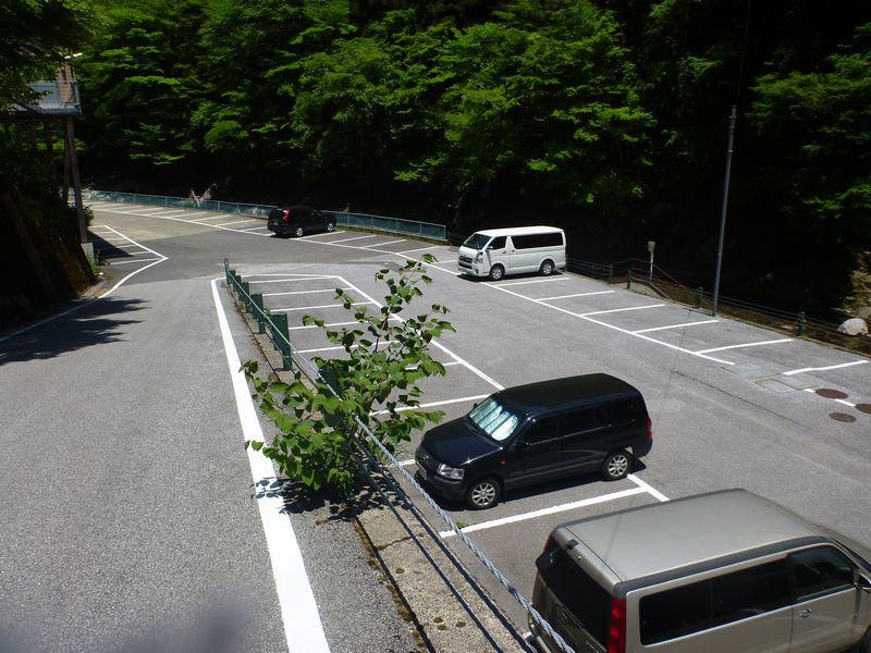 別府峡もみじ茶屋駐車場