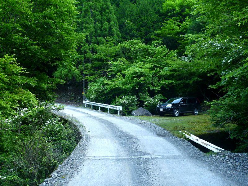 久井谷山登山口