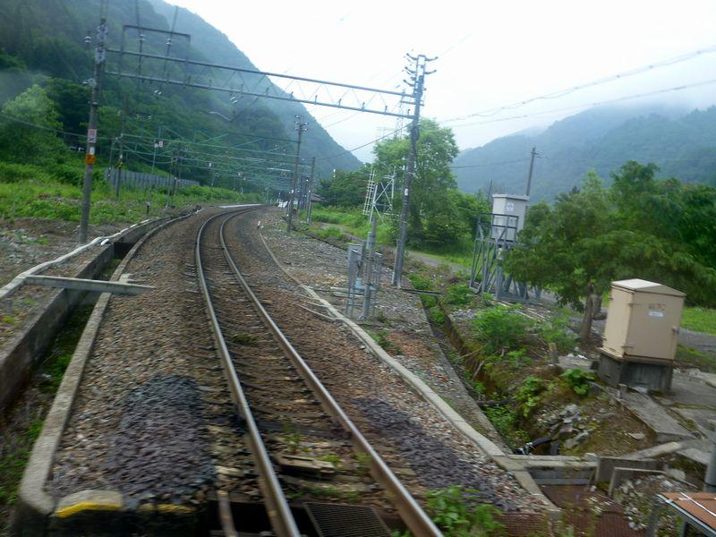 上越線土合駅(上り線)