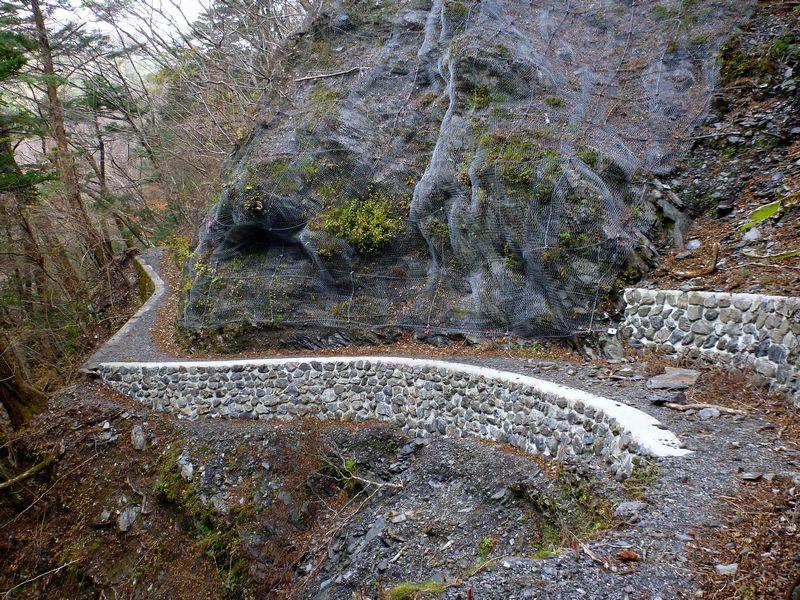 三嶺登山道