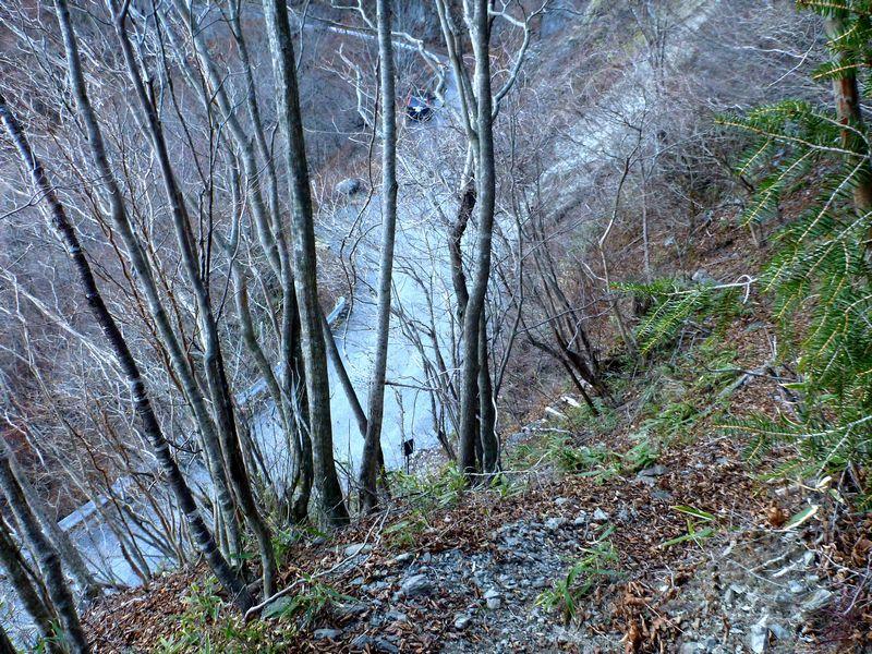 避難小屋登山口